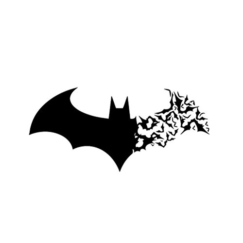 Happy Halloween Bat Wall Decor Decal DIY PVC Murals Vinyl Paper House Decoration Wallpaper for Living Room Bedroom Kitchen Art Picture -