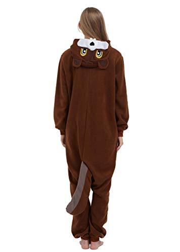 Écureuils Soiree Animal Vetements Anime Halloween Onesie Unisexe Pyjama Deguisements De Kigurumi Outfit Nuit Combinaison Costume Cosplay Adulte aq4Bw