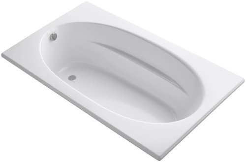 KOHLER K-1115-0 Windward 6-Foot Bath, White