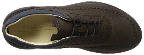 Ecco Herren Cross X Sneaker Braun (Coffee/Marine/Coffee)