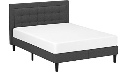 Zinus Dachelle Upholstered Button Tufted Premium Platform Bed