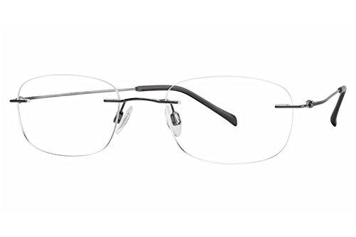 - Charmant Men's Eyeglasses TI8334E TI/8334E SO Gold Rimless Optical Frame 49mm