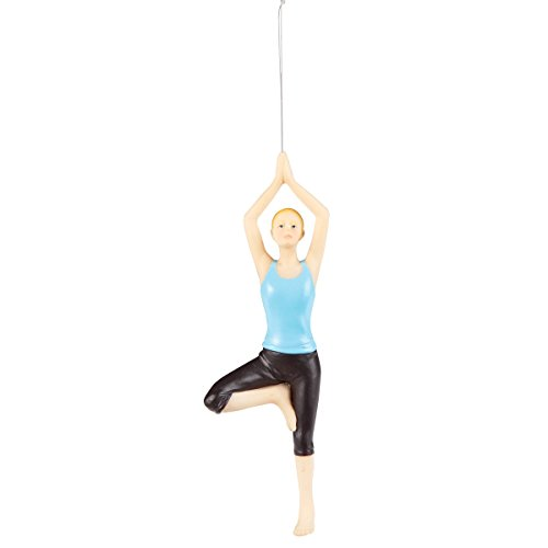 Yoga Tree Pose Ornament