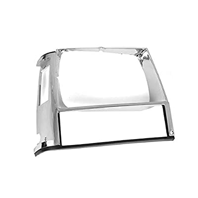 Omix-Ada 12419.12 Chrome Right Side Headlight Bezel: Automotive