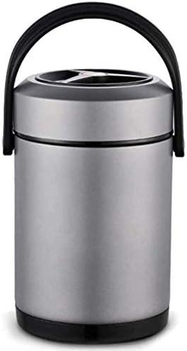 真空食品フラスコサーモスステンレス鋼のスープフラスコのためにキッズ大人キープ食品冷温2Lのための食品断熱ランチボックス