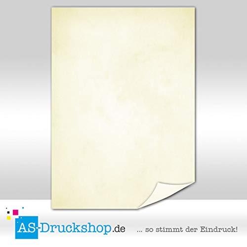 Bianco Marble Paper Saffron Yellow 50 Sheets DIN A5 150 g Offset Paper
