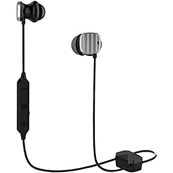 COWIN HE8D Active Noise Cancelling Bluetooth Earbuds, Wireless In-Ear Bluetooth Headphones with Hard Travel Case Built in Microphone Volume Control Enhanced Bass Ear buds- Sliver