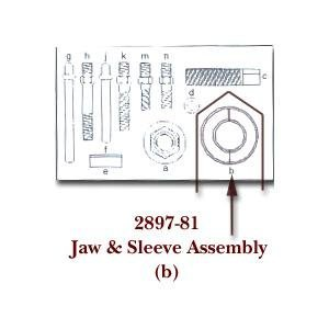 Kd Tools KDS289781 Jaw Assembly And Sleeve For Kdt2897