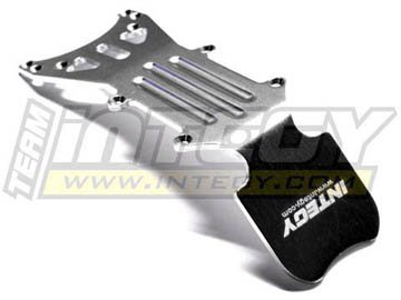 Plate Skid Maxx Rear (Integy RC Model Hop-ups T3857NS Front Type II Skid Plate for E/T-Maxx (3903,3905,3906,3908,4907,4908,4909,4910))