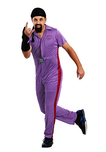 The Big Lebowski Mens Jesus Costume X-Small Purple -