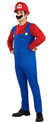 Mario Costumes (Super Mario Bros.) Mario cosplay for adults (japan import) by Super Mario Brothers