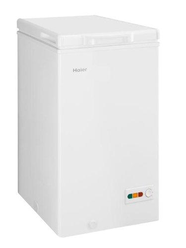 Haier BD-103RAA Autonome Coffre 103L A+ Blanc congélateur - Congélateurs (Coffre, 103 L, 5 kg/24h, SN-T, A+, Blanc) [Classe énergétique A+] BD103RAA