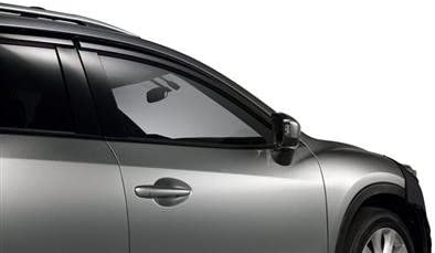 JDM Window Visor Deflector Out-Channel Smoke Tinted 4pcs For Mazda CX-5 13-17