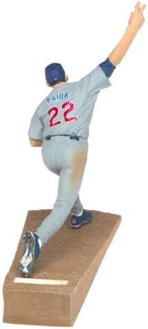 Mark Prior with Gray Jersey T M P Intl MLB Series 7 Figure