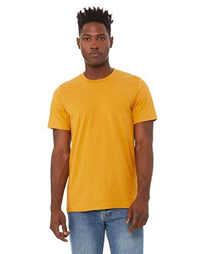 Bella + Canvas - Unisex Short Sleeve Jersey Tee - 3001 - XS - Mustard ()