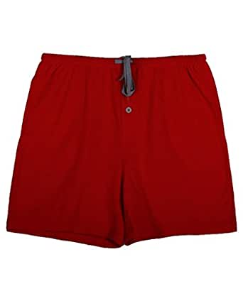 D&P Women's Fashion Summer Casual Short Pants,Red S