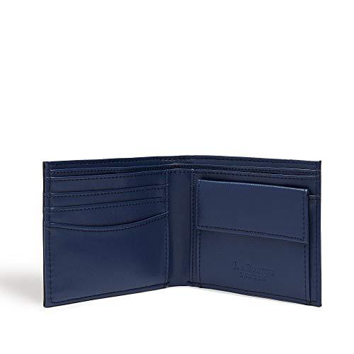 LaBante -Strong- Mens Wallets Slim - black wallets for men Bifold Wallet Minimalist Wallet for Men Top Gifts for Men Coin Purse for Men