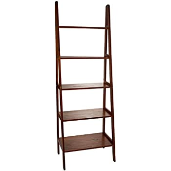 Amazon.com: Furniture of America Lugo Ladder Display Shelf ...
