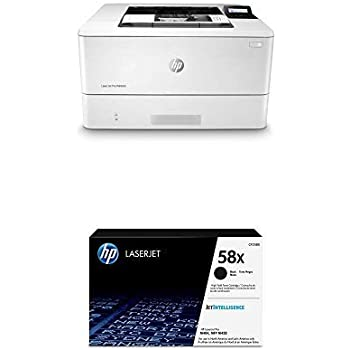 HP Laserjet Pro M404dn Monochrome Laser Printer with Built-in Ethernet & Double-Sided Printing - Ethernet Only (W1A53A) with High Yield Black Toner ...