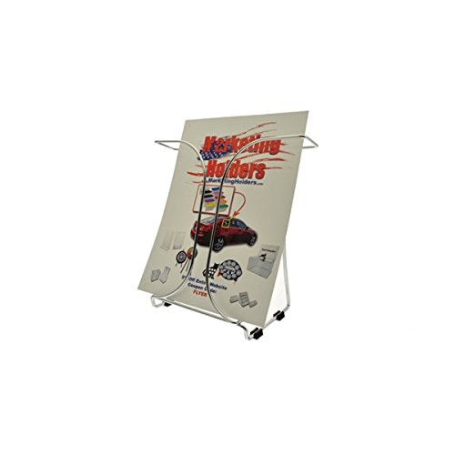 Marketing Holders Counter Top Wire Literature Holder Display For 8.5