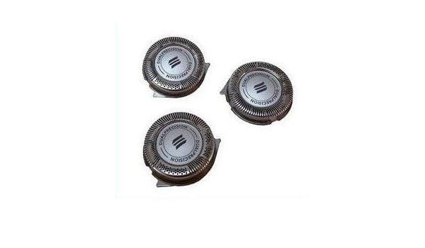 3 cabezales de afeitado de repuesto para Philips Norelco HQ7890 HQ8445 HQ8825 HQ6075 PT7: Amazon.es: Electrónica