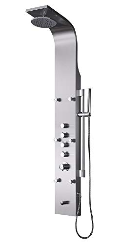 Thermostatic Shower Massage Panel ()