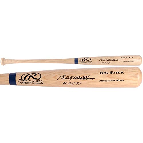 Billy Williams Chicago Cubs FAN Autographed Signed Rawlings Blonde Big Stick Bat With HOF 87 Inscription - Certified ()