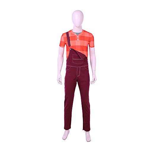 costory Ralph Breaks the Internet Wreck-It Ralph 2 Ralph Men Cosplay Costume Full Suit -