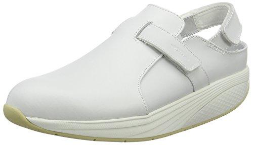 MBT Flua, Zuecos para Hombre Blanco (Bianco)
