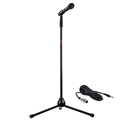 Nady Center Stage Microphone with On/Off Switch and Stand