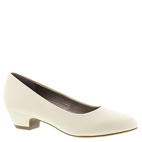 (ARRAY Womens Lily Leather Closed Toe Classic Pumps, Bone, Size)