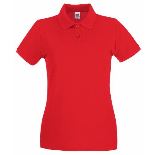 T-shirt à manches courtes Fruit Of The Loom pour femme (2XL) (Rouge)