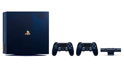 Playstation 4 PRO 500 Million Limited Edition 2TB Console with Extra Limited Edition Dualshock 4 Wireless Controller (Console Limited to 50,000 Units Worldwide)