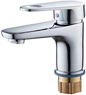 2とキッチンシンク水タップ流域ミキサー蛇口バスルームシングルレベルソリッドブラスの蛇口コールドとホット真鍮クロームタップミキサー蛇口きれいに簡単モードノースプラッシュスプレーません