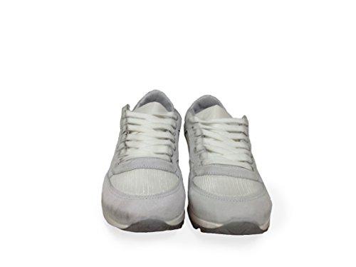 Donna Scudo Arish Argento Scarpe Sneakers Ghiaccio Bianco Basse Stella Foto Vedi Jogging Owta8wq1