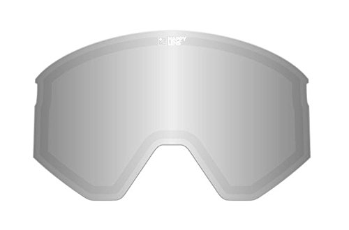 Spy Ace Snow Goggle Replacement Lens Happy Grey Green with Silver - Replacement Happy Lens