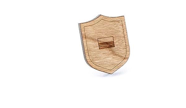 Bandera de Colombia Pin de solapa, de madera pines y corbata Tack ...