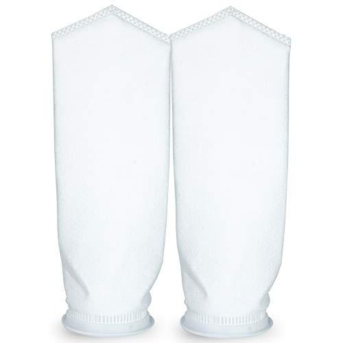 Membrane Solutions 10 Micron Welded Polypropylene Felt Bag Filter Sock 7