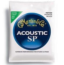 (Martin MSP4000 SP Phosphor Bronze Acoustic Guitar Strings, Extra)