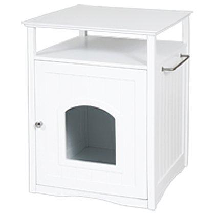 Cat Washroom White, My Pet Supplies