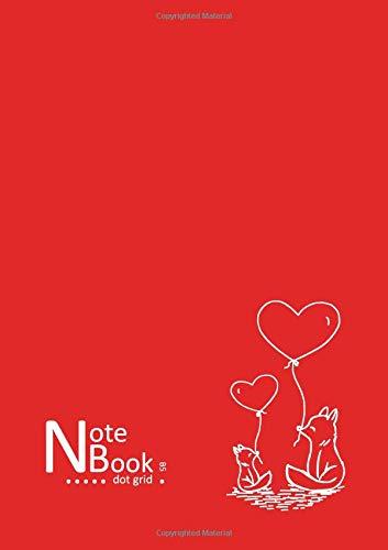NB Notebook Dot Grid B5: Red, Cute Fox Design (Bullet Journals) PDF