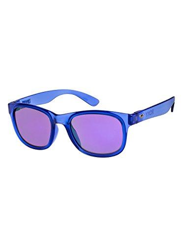 Purple Flash de Gafas Roxy Mujer Runaway sol para ERJEY03049 Shiny Black Uxvfpx