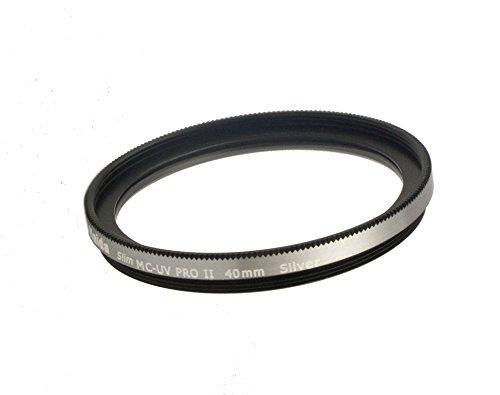 Hecho de vidrio /óptico de alta calidad Hilo especial 40mm para el uso directo Filtro de HAIDA Slim PRO II MC UV PLATA para Fujifilm X10 X30 X20