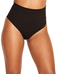 Electro High Waisted Booty Shorts Brief Pin-Up Style Bottoms