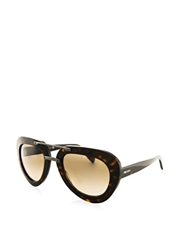 Prada PR28RS 2AU3D0 Tortoise PR28RS Aviator Sunglasses Lens Category 2 Size - Prada Rectangular Aviator Sunglasses