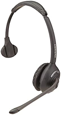 Plantronics 86919-01 Spare WH300 Over The Head Monaural Headset DECT 6.0 for CS510 and CS500 Series, Headset Only from Plantronics