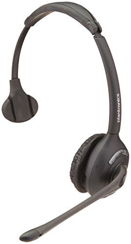 Plantronics Over The Head Headset - Plantronics 86919-01 Spare WH300 Over The Head Monaural Headset DECT 6.0 for CS510 and CS500 Series, Headset Only