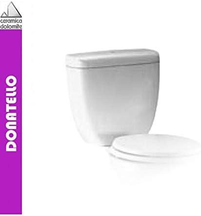 Vaso Ceramica Dolomite Miky.Ceramica Dolomite Dolomite Serie Donatello J508701 Cassetta Monoblocco Wc Entrata Alta Bianco A Magazzino Amazon It Fai Da Te