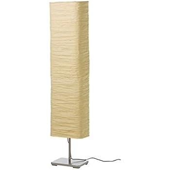 Ikea Regolit Floor Lamp Bow White Black E26 Bulb