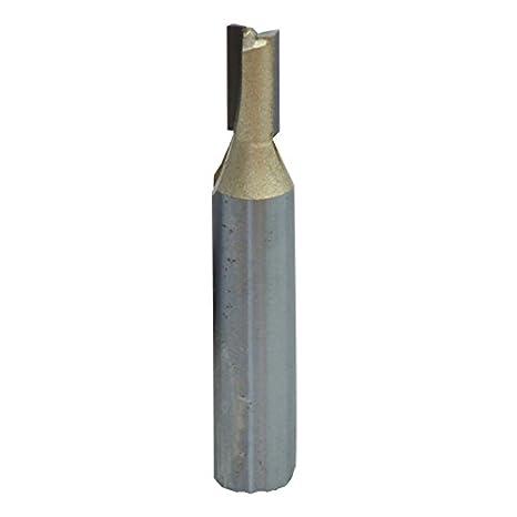 Connex COM610806 Nutfräser HSS mit Hartmetallschneiden, ø 6 mm, Schaft 8 mm Conmetall